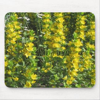 Mousepad Loostrife amarelo e margaridas