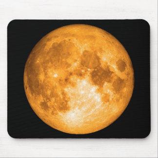 Mousepad Lua cheia alaranjada