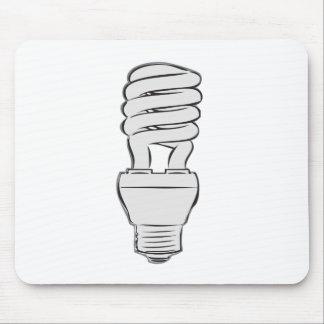 Mousepad Luz de poupança de energia