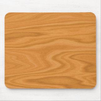 Mousepad Luz - madeira marrom