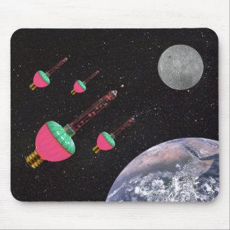 Mousepad Luzes da bolha no espaço