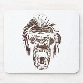 Mousepad macaco feio do vintage