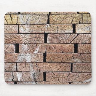Mousepad madeira, retro, árvores