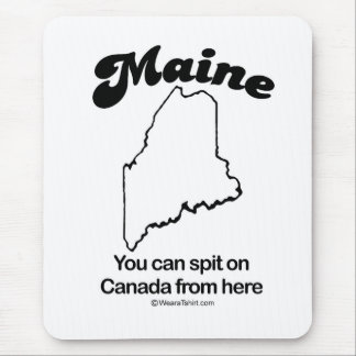 "Mousepad MAINE - de ""t-shirt e engrenagem da DIVISA do"