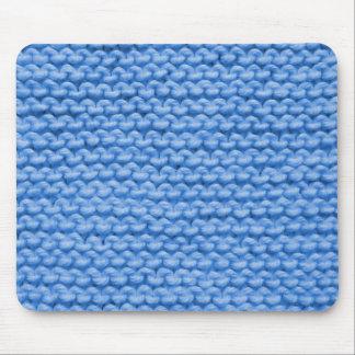 Mousepad Malha azul do fio