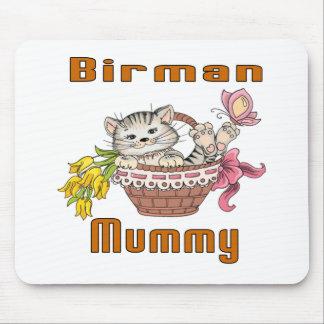 Mousepad Mamã do gato de Birman