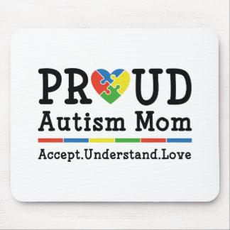 Mousepad Mamã orgulhosa do autismo