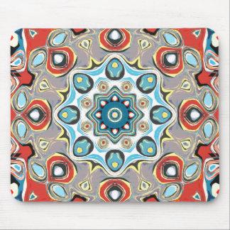 Mousepad Mandala abstrata dos Pastels