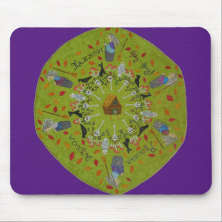 Mousepad Mandala de Yaga do babá