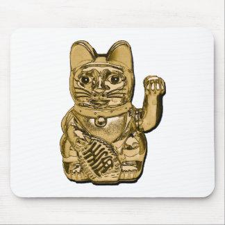 Mousepad Maneki dourado Neko