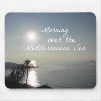 Mousepad Manhã sobre o mar Mediterrâneo