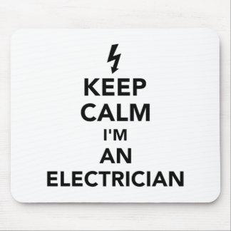 Mousepad Mantenha a calma que eu sou um eletricista