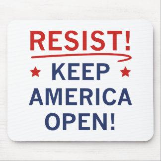 Mousepad Mantenha América aberta