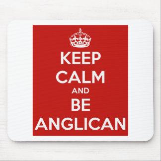 Mousepad Mantenha calmo e seja anglicano