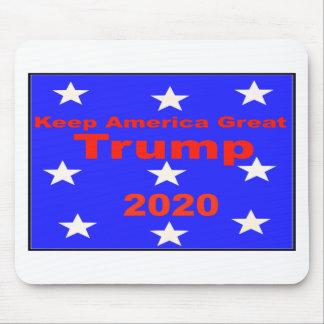 Mousepad Mantenha o slogan político do trunfo 2020 do