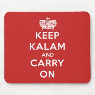 Mousepad Mantenha o tapete do rato calmo de Kalam