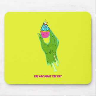 Mousepad Mão do zombi - você é o que você come