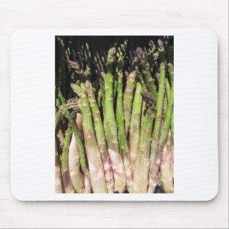Mousepad Mão fresca do aspargo escolhida do jardim