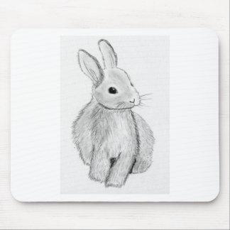 Mousepad Mão original coelho tirado