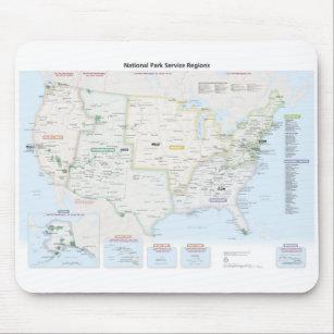 Mousepad Mapa da região de National Park Service