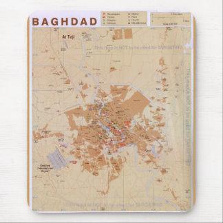 Mousepad Mapa de Bagdade, Iraque (2003)