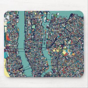 Mousepad Mapa de Manhattan New York