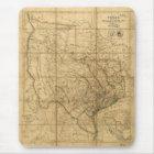 Mousepad Mapa de Texas por John Arrowsmith (1841)