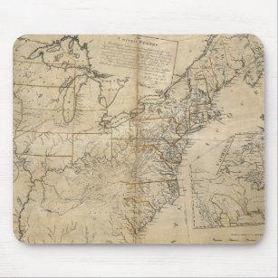 MOUSEPAD MAPA: EUA, 1783