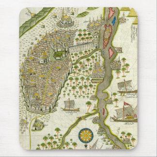 Mousepad Mapa islâmico antigo