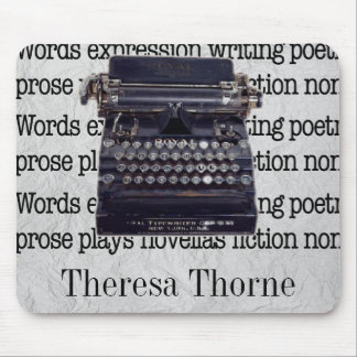 Mousepad Máquina de escrever do vintage