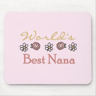 Mousepad Margaridas e mundos a melhor Nana dos rosas