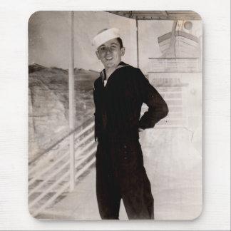 Mousepad marinheiro jaunty dos anos 40