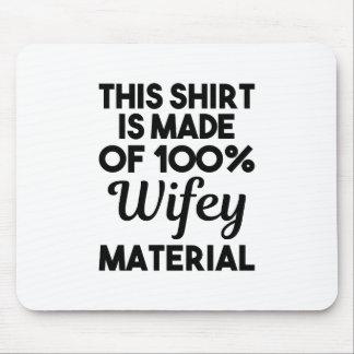 Mousepad Material de Wifey