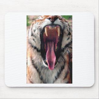 Mousepad Maxilas do rolamento do tigre dos alugueres