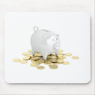 Mousepad Mealheiro e moedas