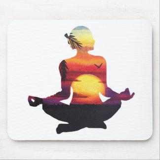 Mousepad Meditação da ioga