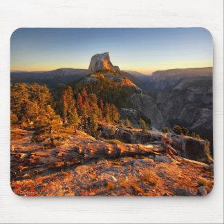 Mousepad Meia abóbada no por do sol - Yosemite