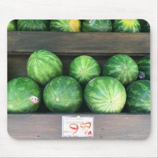 Mousepad Melancias para a fruta do melão do mercado de