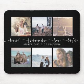 Mousepad Melhores amigos para fotos de Instagram da