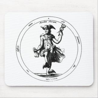 Mousepad Mercury alquímico e Caduceus