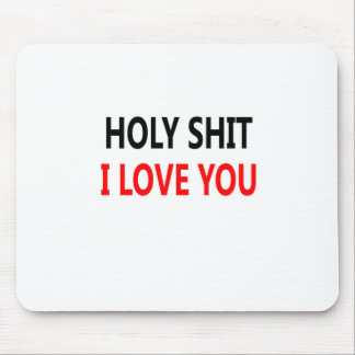 Mousepad Merda santamente eu te amo (1)