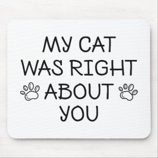 Mousepad Meu gato era direito