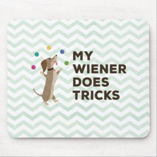 Mousepad Meu Wiener faz truques