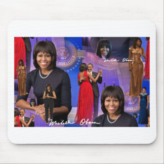 Mousepad Michelle Obama