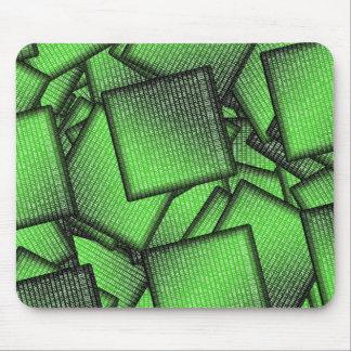 Mousepad Microplaquetas da matriz do código binário