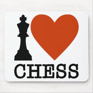Mousepad Mim xadrez do coração