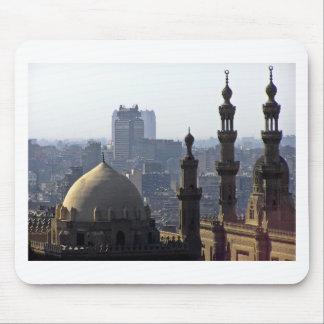 Mousepad Minaretes panorama de mesquita Cairo