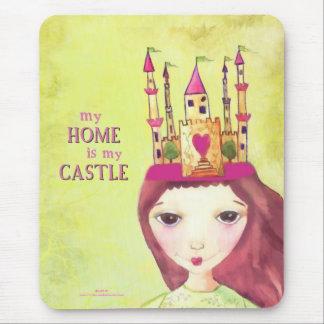 Mousepad minha casa é meu castelo