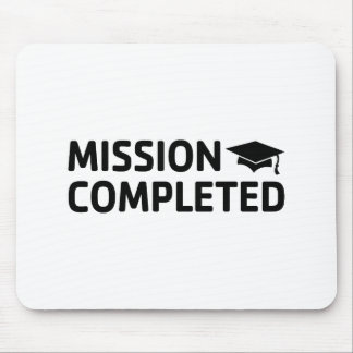Mousepad Missão terminada