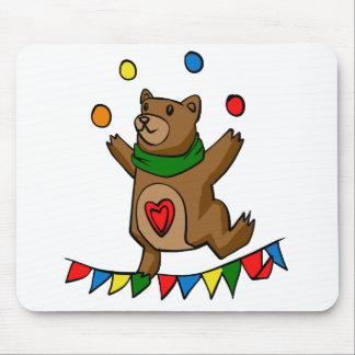 Mousepad Mnanipulação do urso